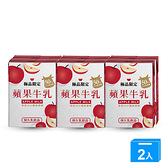味全極品限定蘋果牛乳200ML x6【兩入組】【愛買】