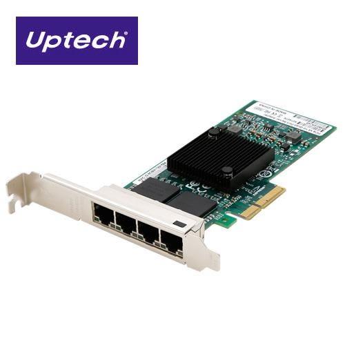 Uptech 登昌恆 S82580EB-4RJ Giga PCI-E 網路卡