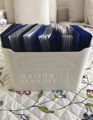 大創面膜收納盒子 歐式桌面浴室化妝品護膚品收納盒整理盒塑料