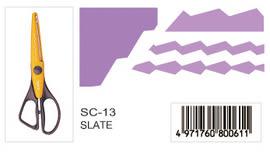 CARL  SC-13  (SLATE)造型剪刀  /   支