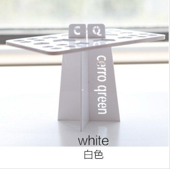 Cerro Qreen(白色)化妝刷晾刷架 晾曬化妝刷 化妝刷架 洗刷晾刷架子