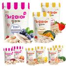 韓國 米餅村 寶寶米餅 糙米棒 糙米圈圈 水果餅 米菓 米棒 泡芙 副食品 0088