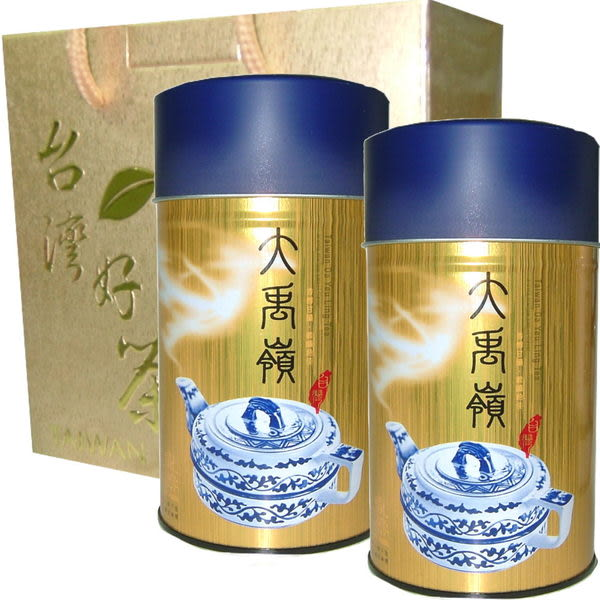 ☆手採☆ 大禹嶺茶150公克/瓶 ( 2罐入/禮盒裝 )送禮自用皆合宜