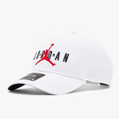 NIKE AIR JORDAN LOGO 老帽 棒球帽 刺繡 休閒 白【運動世界】CK1248-100