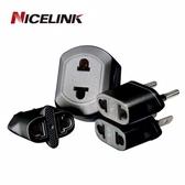 [富廉網] Nicelink UA-401A(B)  黑色  旅行萬用轉接頭 (全球通用組合包)