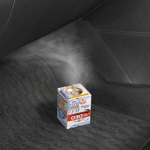 車之嚴選 cars_go 汽車用品【D217】日本CARMATE Dr.DEO 噴煙蒸氣式循環除臭劑 一次去除車內臭味異味 190g