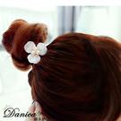 髮束 現貨 韓國熱賣氣質甜美 小香風 花朵 珍珠水鑽 髮飾 S7255 Danica 韓系飾品 韓國連線