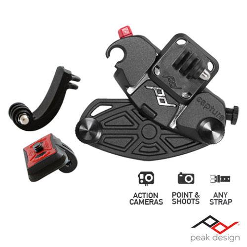 Peak Design Capture P.O.V. 小型相機快夾系統 Gopro/小數位相機適用 公司貨