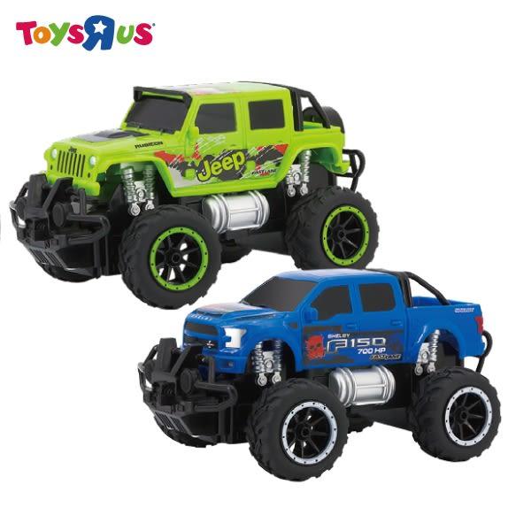 玩具反斗城 FAST LANE 1:24 巨輪怪獸遙控車