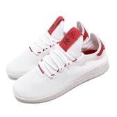 adidas 休閒鞋 PW Tennis HU Pharrell Williams 白 紅 聯名款 運動鞋 男鞋 女鞋【PUMP306】 BD7530
