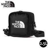 【The North Face Explore Bardu II 斜背包《黑》】3VWS/輕巧方形休閒單肩背包/側背包