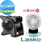 【美國 Lasko】AirSmart黑武士渦輪循環風扇 U15617TW 加碼送奇美循環扇