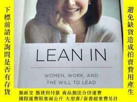 二手書博民逛書店英文原版Lean罕見In: Women, Work, and t