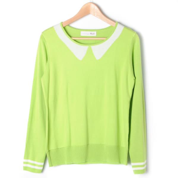 【Dailo】假領長袖T恤-綠 10601