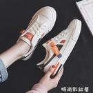 小白鞋女春夏秋冬季帆布鞋女2020新款運動板鞋韓版ulzzang餅干鞋「時尚彩紅屋」