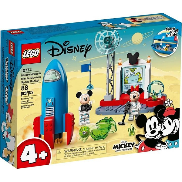LEGO 樂高 10774 Mickey Mouse & Minnie Mouse's Space