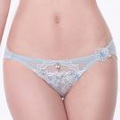LADY 花卉遐想系列 低腰三角褲 ( 冰晶藍 )