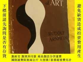 二手書博民逛書店TOWARD罕見A PSYCHOLOGY OF ART (RUD
