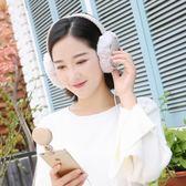 耳機 保暖耳罩冬季男女帶耳朵套隔音頭戴式