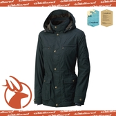 【Wildland 荒野 女款 絲絨 時尚防風保暖外套《鐵灰》】0A-3290795/防潑水外套/連帽外套/透氣