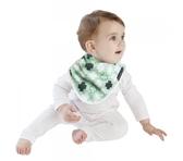 MUM 2 MUM 雙面竹纖維棉機能口水巾圍兜 十字拼圖/X號 ZMU363369 好娃娃