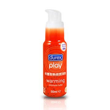 情趣用品-優惠商品買就送潤滑液滿千再9折♥女帝♥英國杜蕾斯Durex杜蕾斯熱感潤滑液