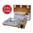 【Iwatani日本岩谷】超薄高效能瓦斯爐(50週年限定金色) CB-SS-50