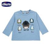 chicco-倫敦熊系列-長袖上衣-藍