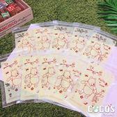 正版授權 迪士尼 小熊維尼 維尼熊 維尼 小豬 密封造型夾鏈袋 封口袋 密封袋 收納袋 10入 COCOS AJ029