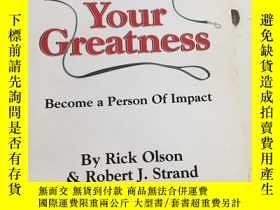二手書博民逛書店Unleash罕見Your GreatnessY25376 Rick Olson ROSS PUBLISHIN