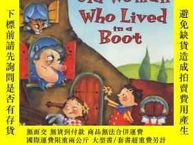 二手書博民逛書店There罕見Was An Old Woman Who Lived In A BootY255562 Smit