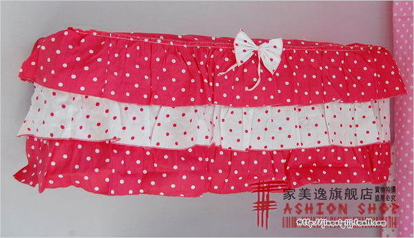 [超豐國際]棉布 -掛機空調罩/空調套/木耳花邊/田園布藝-