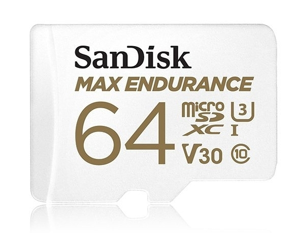 【極致耐寫度 3萬小時 】SanDisk MAX ENDURANCE Micro SDXC 64Gb 記憶卡 100MB/s C10 U3 V30 4K 64G