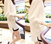【618】好康鉅惠2018竹節棉白色T恤女韓版寬鬆七分袖