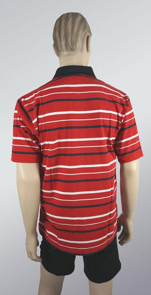 男棉POLO衫(橫條紋款)