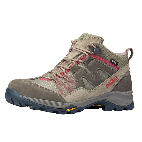 [好也戶外]SIRIO Gore-Tex中筒登山健行鞋(3E+寬楦) 女款-棕紅 NO.PF156SA