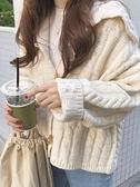 毛衣外套秋季2021新款學院風日繫毛衣女韓版寬鬆慵懶風長袖針織開衫外套潮 雙11 伊蘿