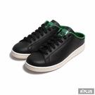 ADIDAS 男女 休閒鞋 STAN SMITH MULE 半包 簡約 舒適 穆勒 黑綠 -FX5858