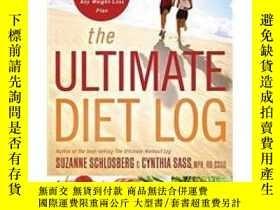 二手書博民逛書店罕見ye-9780618968954-The Ultimate Diet LogY321650 Suzanne