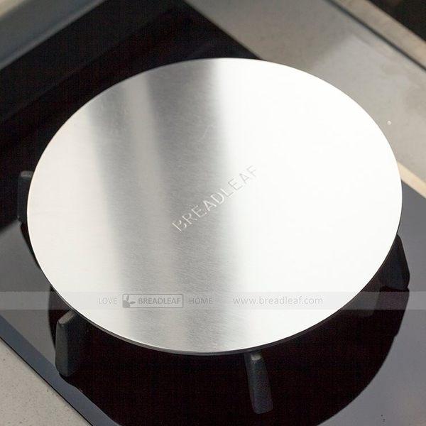 breadleaf 導熱片 瓦斯爐導熱板 節能板 鑄鐵鍋導熱片 奶鍋架 小型鍋圓形小爐架 奶鍋泡麵鍋
