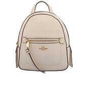 【COACH】皮革口袋後背包(小)(白色) F30530 IMCHK
