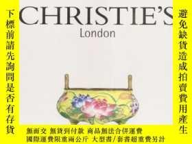 二手書博民逛書店【罕見】倫敦佳士得 2004年11月9日 放山居莫里循藏中國瓷器