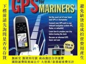 二手書博民逛書店Gps罕見For Mariners 2nd Edition: A Guide For The Recreation