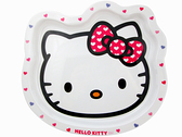 【卡漫城】 微瑕疵出清 Hello Kitty 臉形 餐盤 大 ㊣版 凱蒂貓 盤子 托盤 水果盤 點心盤 咖哩飯 早餐