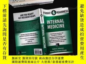 二手書博民逛書店Resident罕見Readiness Internal Medicine.Y167411 Debra Kla