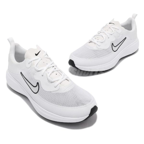 Nike 高爾夫球鞋 Wmns Ace Summerlite 寬楦 白 黑 女鞋 小白鞋【ACS】 DC0101-108