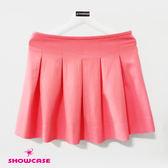 【SHOWCASE】俏麗細腰箱褶短裙(粉)