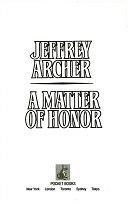 二手書博民逛書店 《A Matter of Honor》 R2Y ISBN:067164159X