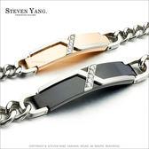 情侶手鍊STEVEN YANG西德鋼飾鋼手鍊「暮光之愛」*單個價格*情人節推薦