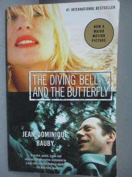 【書寶二手書T3/原文小說_NEH】The Diving bell and the butterfly_Bauby